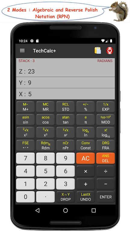 TechCalc+ Scientific Calculator (adfree)  poster 1