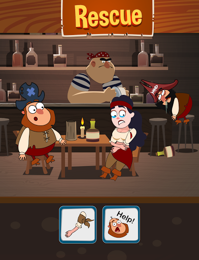 Save The Pirate! Make choices - decide the fate  screenshots 15
