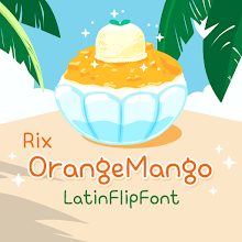 RixOrangeMango™ Latin Flipfont Download on Windows