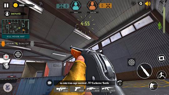 Free Alone Shooter   1v1 Offline Clash Squad 2021 4