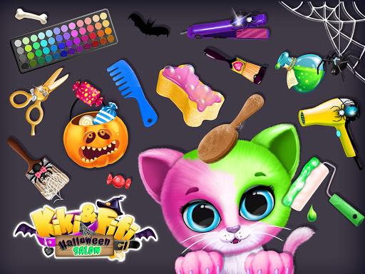 Kiki & Fifi Halloween Salon - Scary Pet Makeover  Screenshots 7