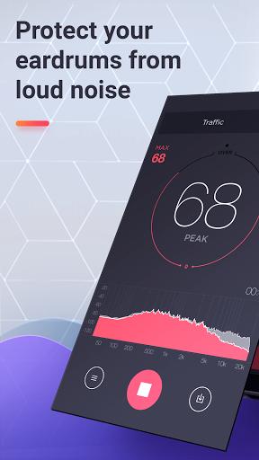 dB Meter - frequency analyzer decibel sound meter  screenshots 1