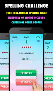 Spelling Challenge - Free