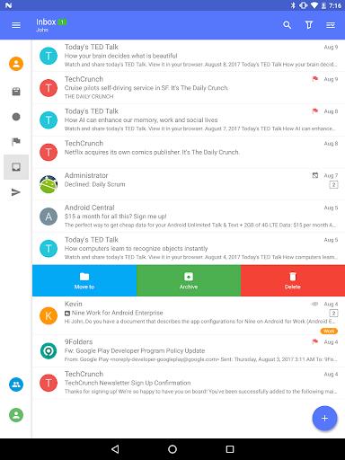 Nine - Email & Calendar apktram screenshots 8