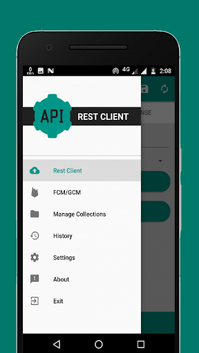 rest client - test rest api with your phone screenshot 1
