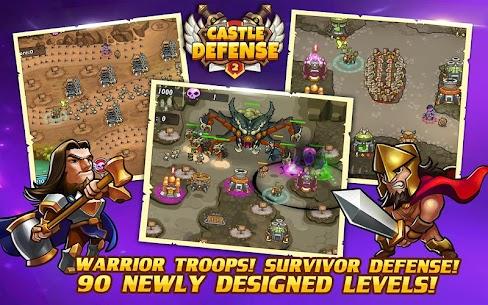 Castle Defense 2 MOD APK (Unlimited Money Unlocked) 2