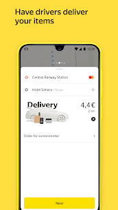 Yandex Go — taxi and delivery 3