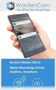 Home Security Camera WardenCam - reuse old phones 2.8.2 Screenshots 4