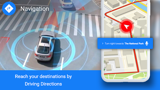 Image For GPS Maps Location - Voice Navigation & Directions Versi 1.4 2