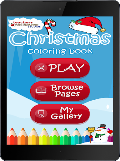 Christmas Coloring Book Games screenshots 9