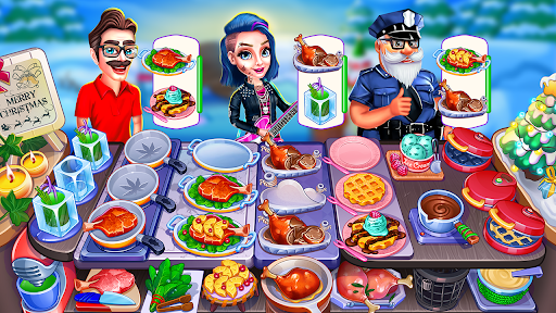 Christmas Cooking : Crazy Food Fever Cooking Games 1.4.58 Screenshots 2