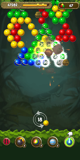 Bubble Shooter: Jungle POP modiapk screenshots 1