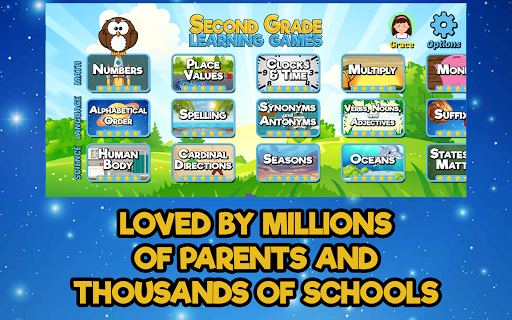 Second Grade Learning Games 5.3 screenshots 4