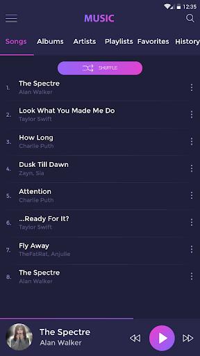 Music player - mp3 player 4.1.5 Screenshots 22
