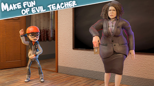 Scare Scary Bad Teacher 3D - Spooky & Scary Games screenshots 5