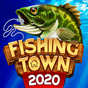 Fishing Town: 3D Fish Angler & Building Game 2020