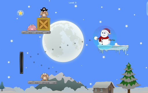 Snowman Ball Shoot 1.9.7 screenshots 1