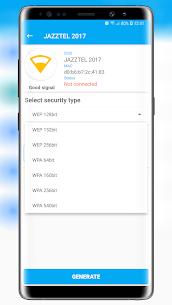 Free Wifi Password Key Generator Premium v1.0.4.3 MOD APK 4