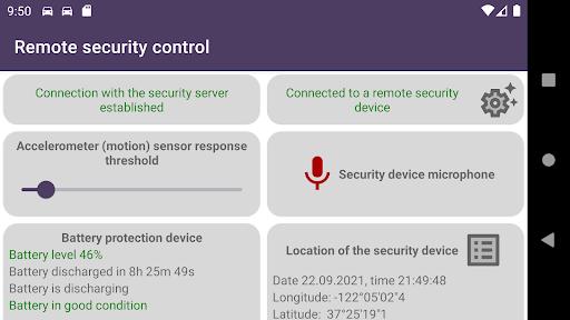 Remote car security screenshot 18