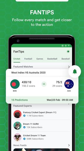 FanTips : Prediction Tips Experts for Dream11  screenshots 1