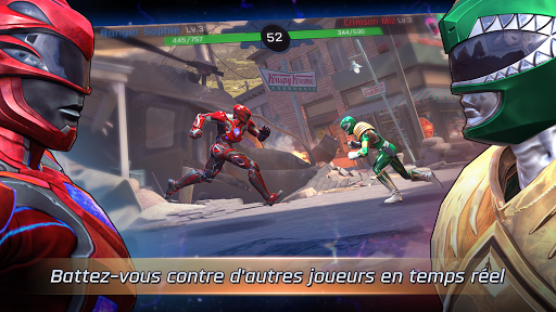 Télécharger Power Rangers: Legacy Wars  APK MOD (Astuce) screenshots 1