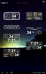 Weather Clock 10