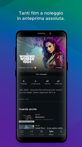 Mediaset Infinity TV apktram screenshots 5