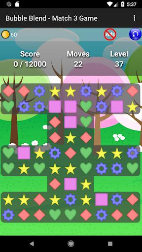 Bubble Blend - Match 3 Game  screenshots 2