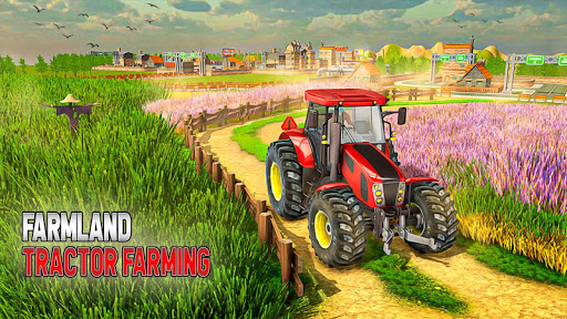 Farmland Tractor Farming - New Tractor Games 2021 1.5 screenshots 5