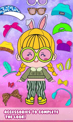 Chibbi dress up : Doll makeup games for girls 1.0.2 screenshots 4