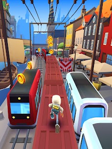 Subway Surfers MOD APK 2.20.1 (Unlimited money, keys, hoverboards and boosters) 10