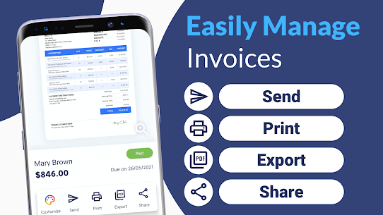 Invoice Maker MOD APK (VIP Unlocked) Download for Android 6