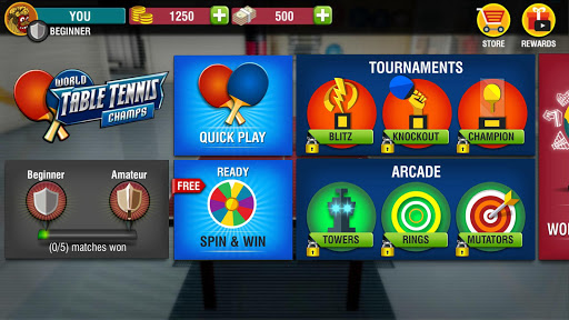Download World Table Tennis Champs mod apk