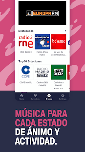 TuneIn Radio: deportes, noticias, música, podcasts Screenshot