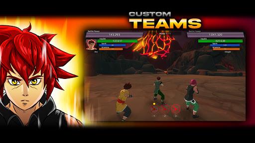 Burst To Power - Anime fighting action RPG  screenshots 3