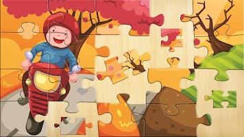 Kids Puzzles - Wooden Jigsaw #2