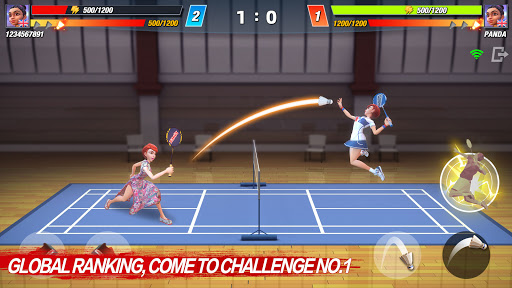 Badminton Blitz - Free PVP Online Sports Game 1.2.2.3 screenshots 1