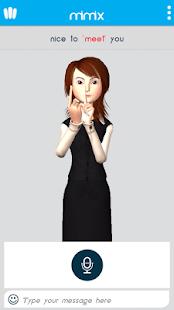 Mimix3D Sign Language