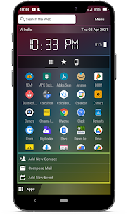 Chroma Launcher For Android 5
