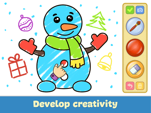 Coloring and drawing for kids  screenshots 17