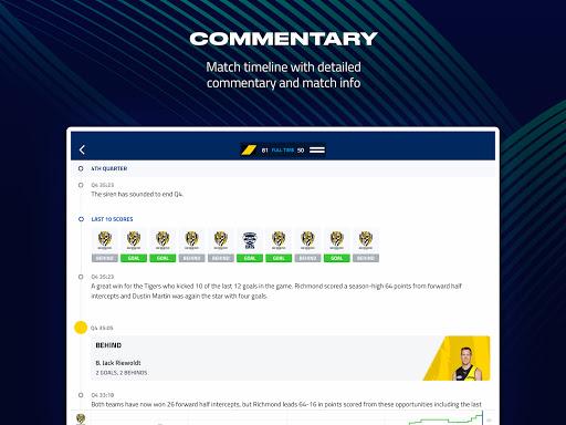 AFL Live Official App  screenshots 10