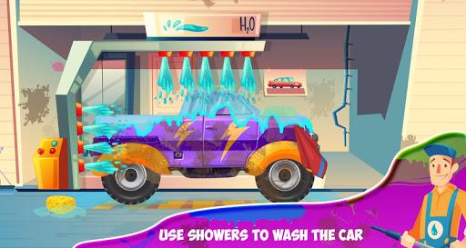 Télécharger Station d'atelier automatique de salon de lavage apk mod screenshots 3