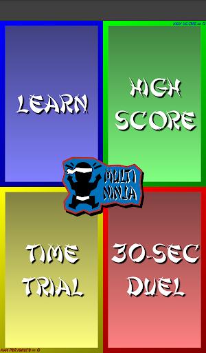 Multiplication Ninja 31 screenshots 17