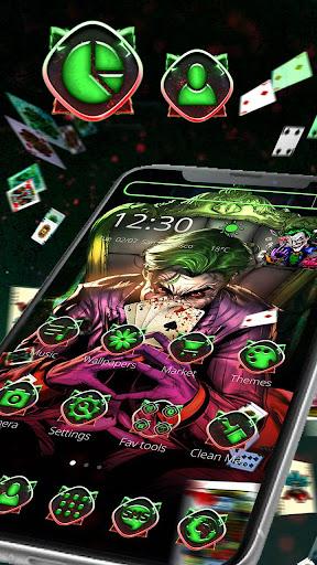Psycho Joker Cool Theme 1.1.10 Screenshots 1