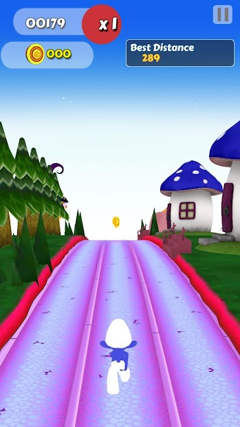 Captura 3 de Subway Smurf Runner para android