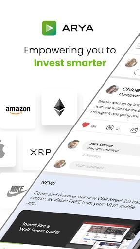 ARYA Invest smart, live better screenshots 1