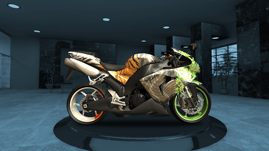 Racing Fever: Moto Screenshot
