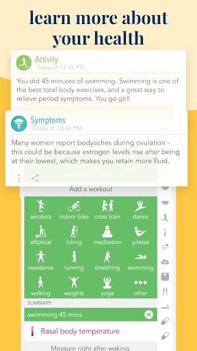 Ovia Fertility: Ovulation & Cycle Tracker screenshots 4