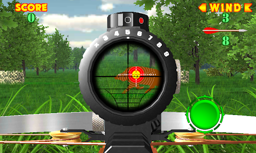 Crossbow shooting gallery. Shooting on accuracy. Screenshot