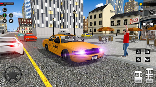 City Taxi Driving simulator: PVP Cab Games 2020 apktram screenshots 7